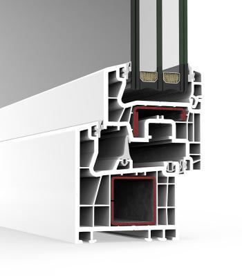 Sistema A 70 Triple junta - PVC
